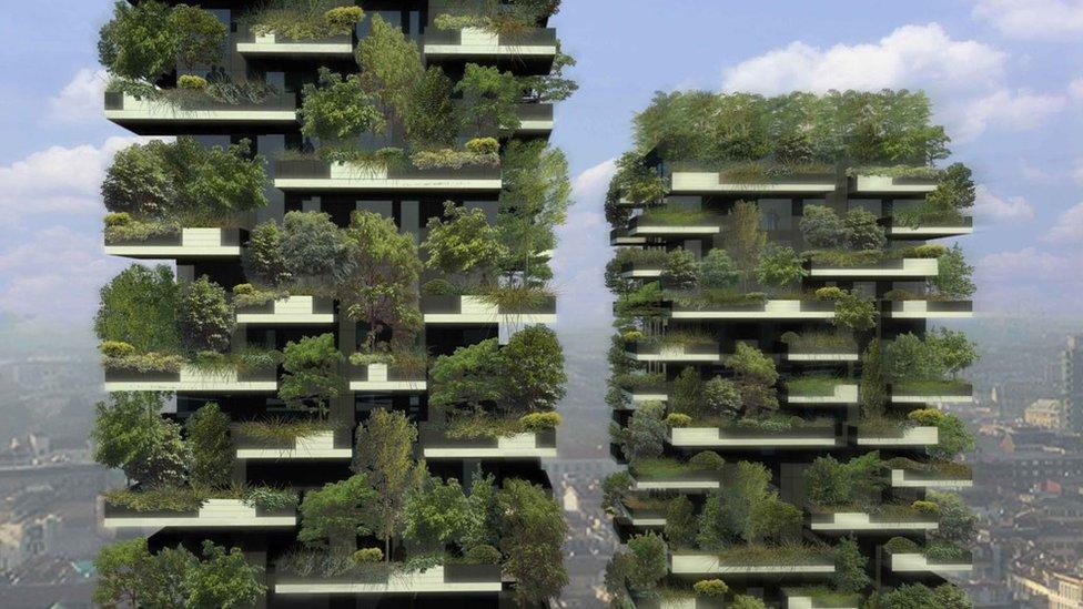 espacios verdes en Milán
