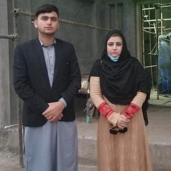 Hamad Hillal y Malala Maiwand