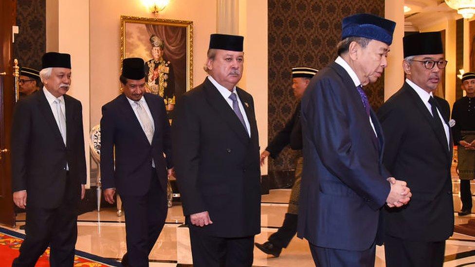 Sultán de Johor.