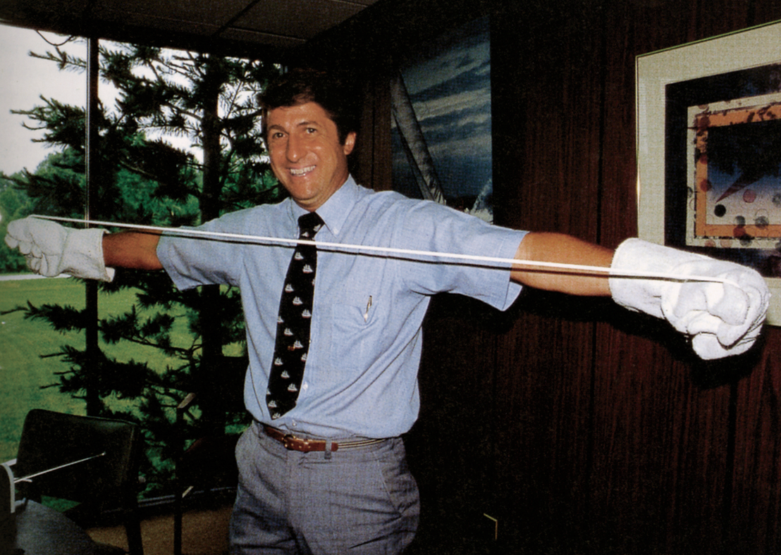Robert Gore discovered that PTFE could be expanded through rapid stretching