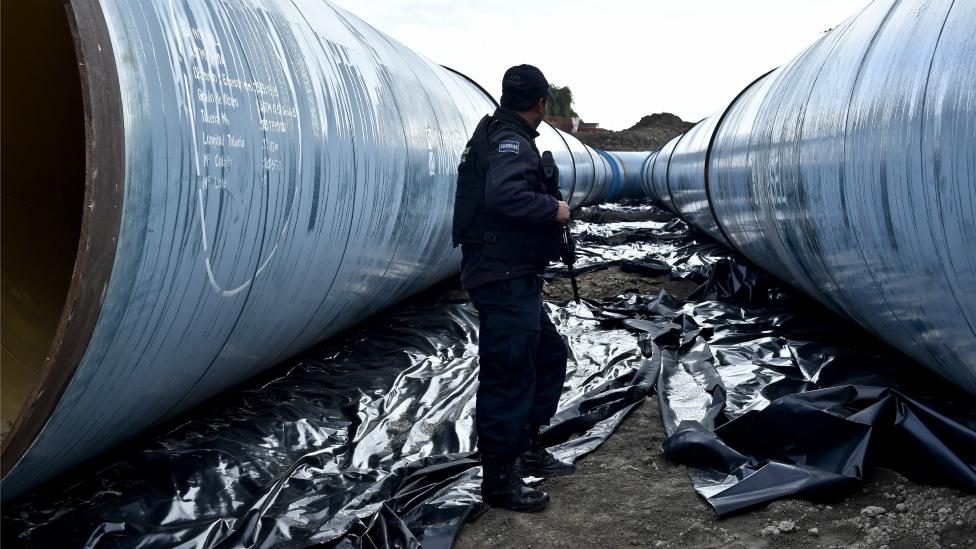 Gasoductos México