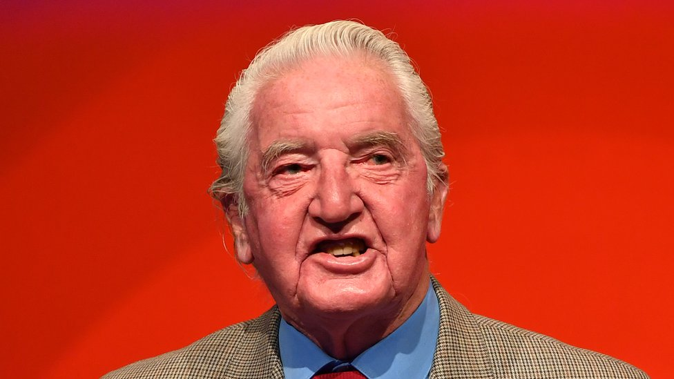 Dennis Skinner at the 2018 Labour Party Conference