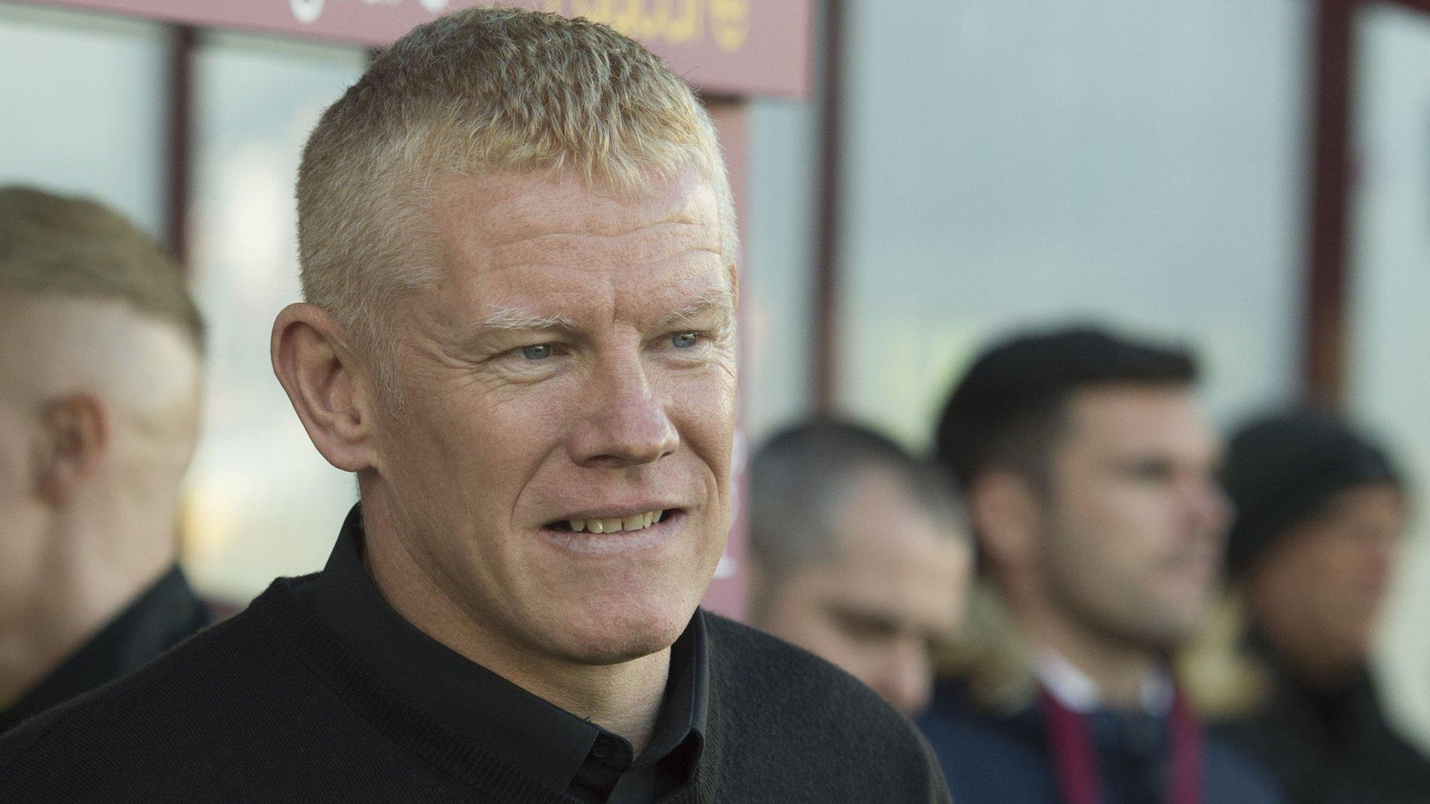 Livingston's Gary Holt named Scottish Premiership manager of month