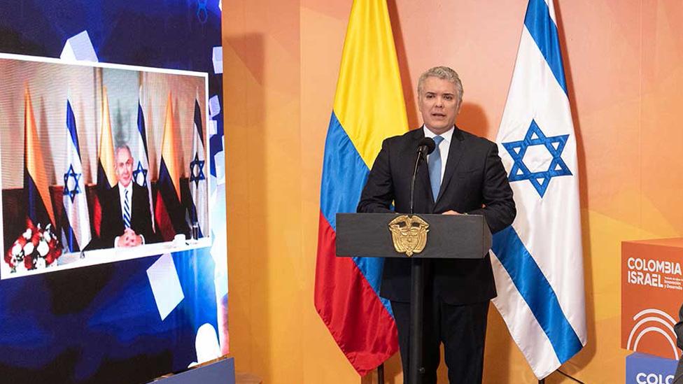 Duque y Netanyahu