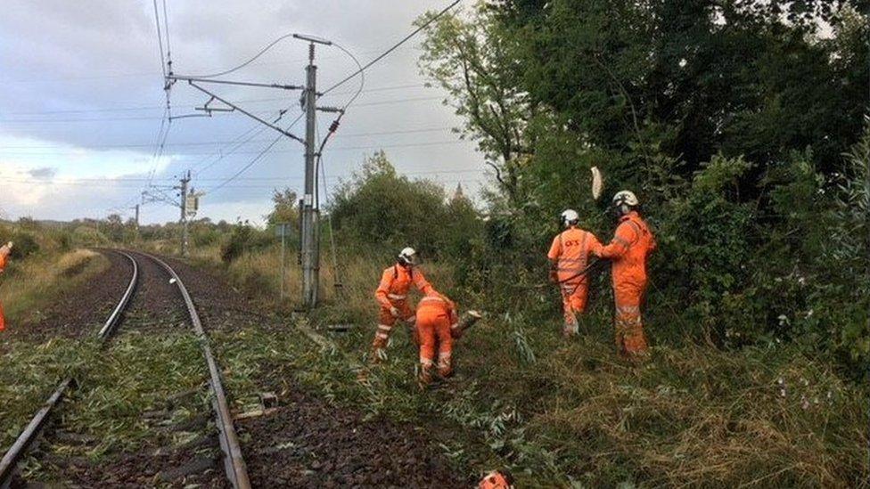 Scotland cleans up after Storm Ali