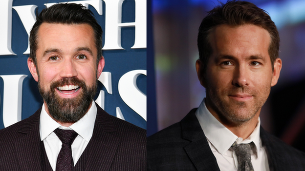 Rob McElhenney (left) and Ryan Reynolds
