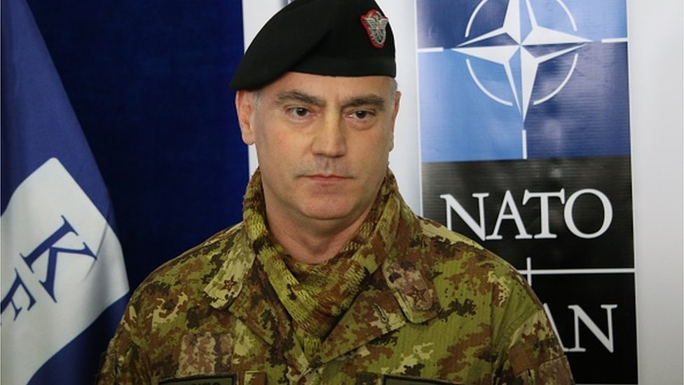 General Salvatore Kuoči, komandant KFOR
