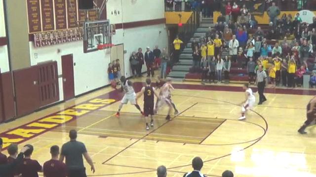 Minnesota high school basketball game