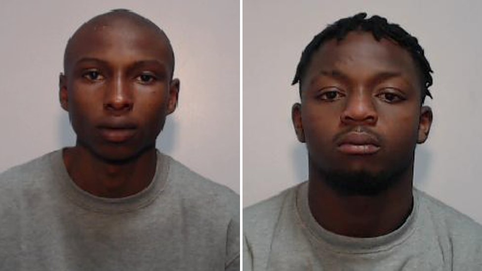Momodou Jallow and Daniel Kamara