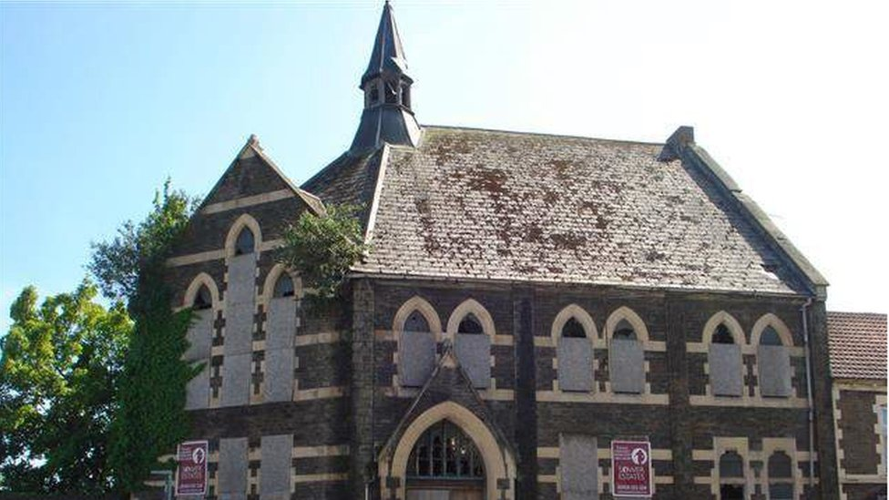 How the church, on Splott Road, looked in 2016