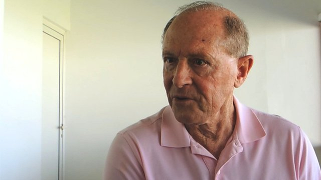 Former England batsman Geoffrey Boycott