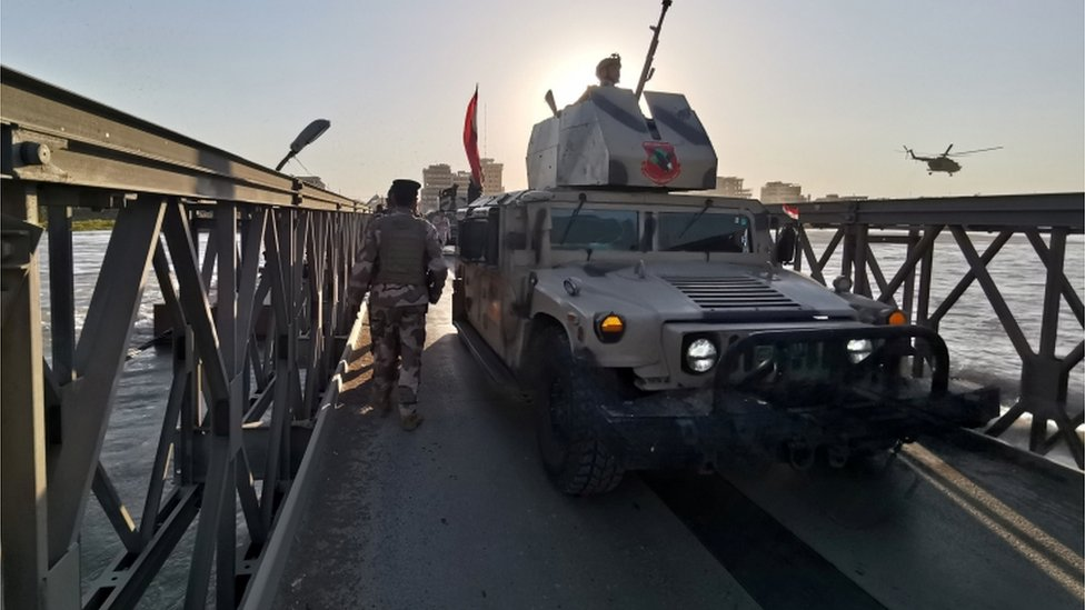 Aftermath of Mosul ferry sinking