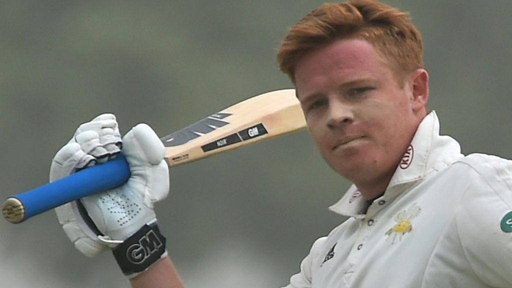 England's Pope hits 251 for Surrey in midst of sandstorm