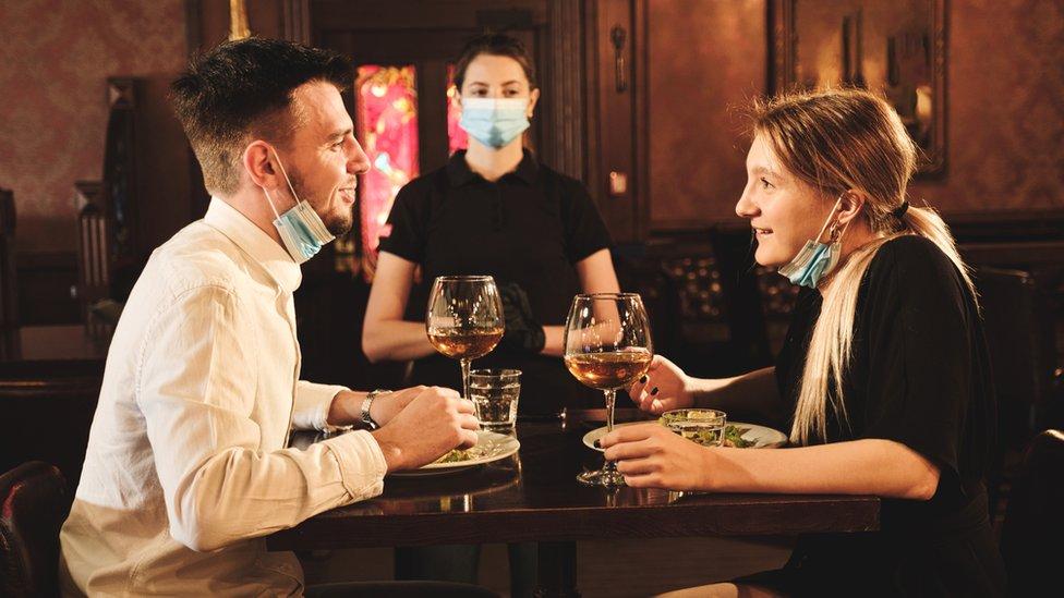 Coronavirus New Rules In Force For Bars And Restaurants Bbc News