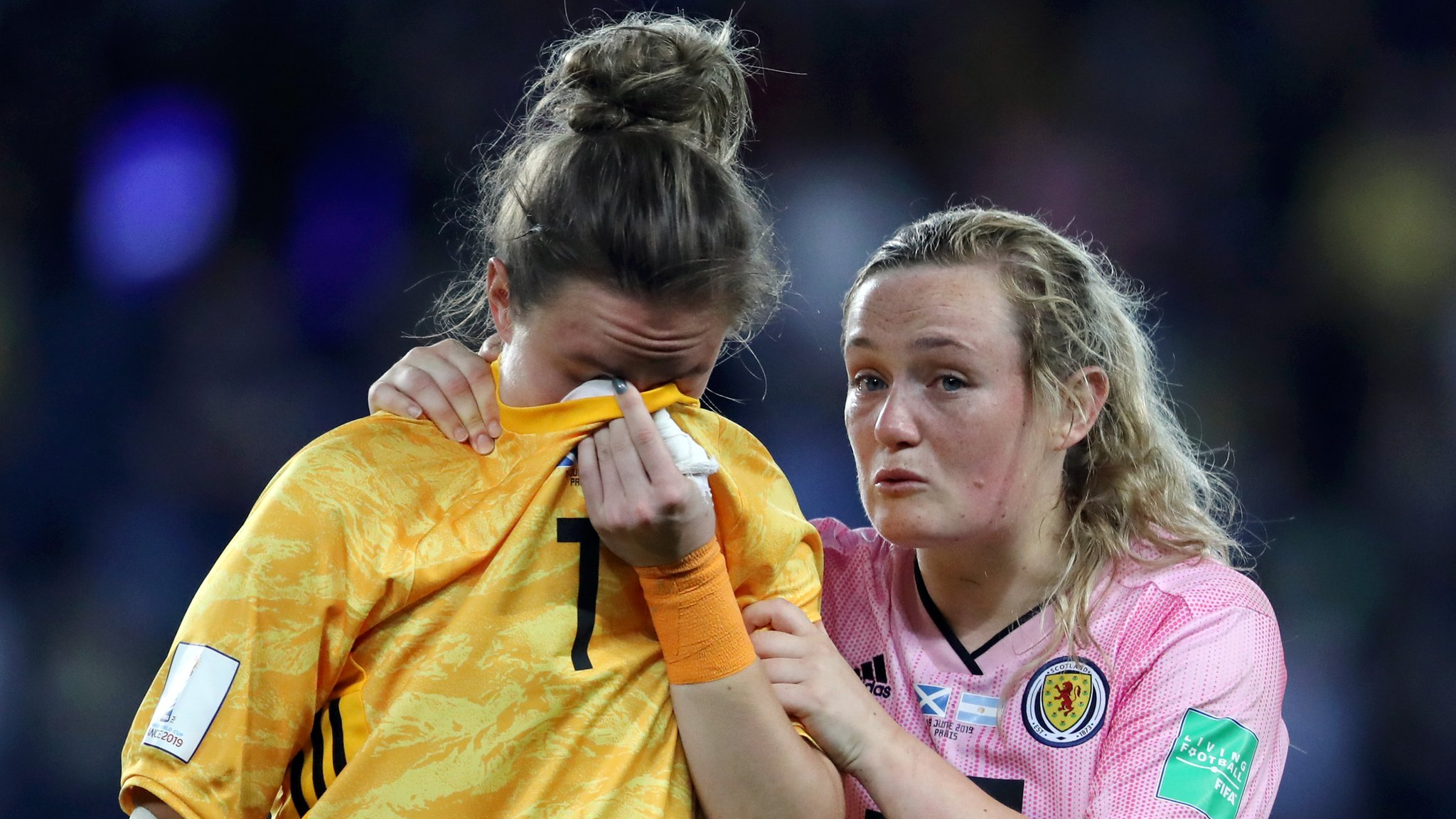 Women's World Cup: Scotland knocked out after 3-3 draw with Argentina