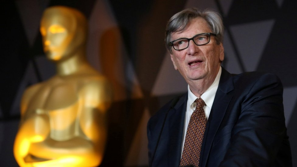 Motion Picture Academy President John Bailey speaks at Beverly Hills event in March 2018