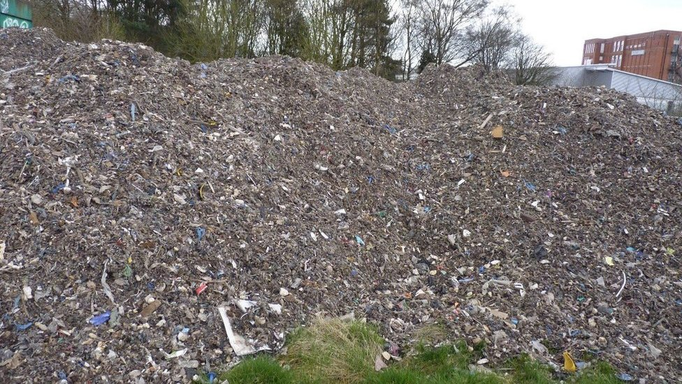 Lorry driver who dumped 100 tonnes of waste at school jailed
