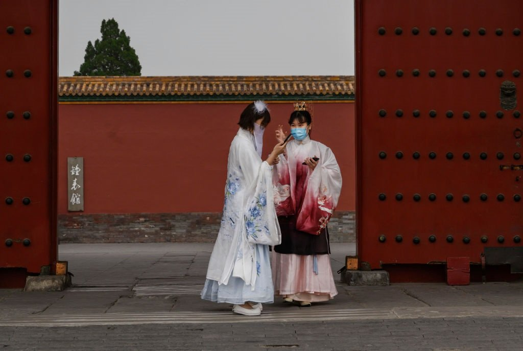 在中國,希望推動漢服復興的愛好者越來越多。