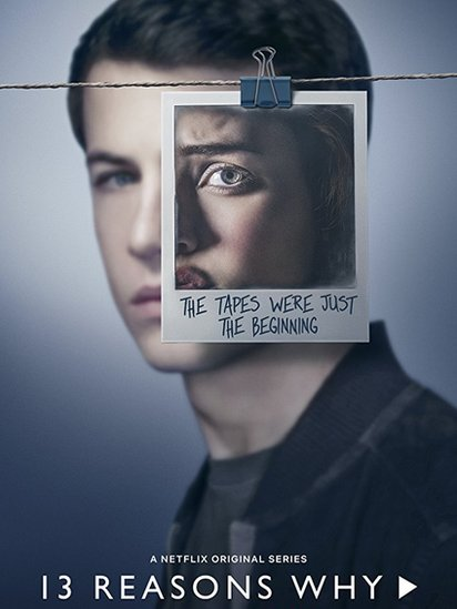 Cartel de la segunda temporada de 13 Reasons Why