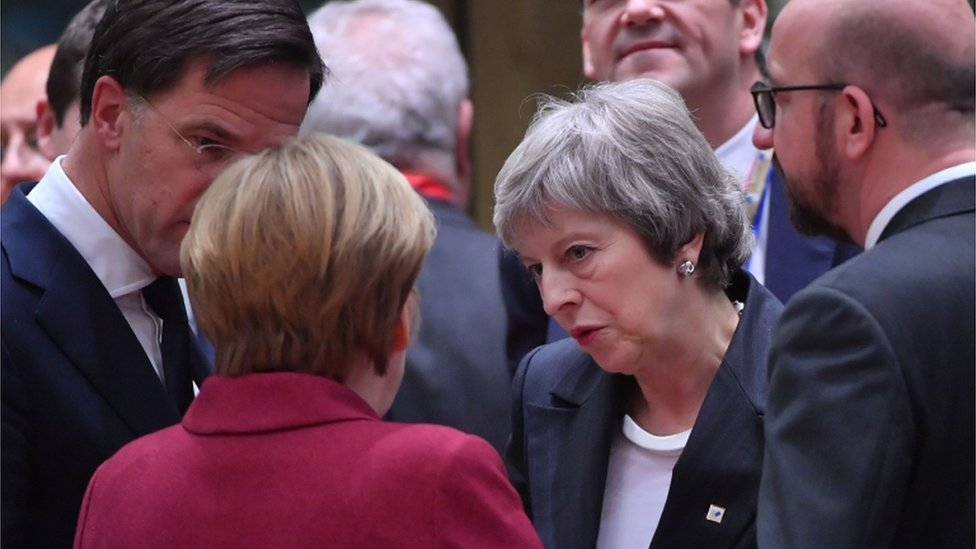 Our Brexit deal is at risk, May warns EU leaders