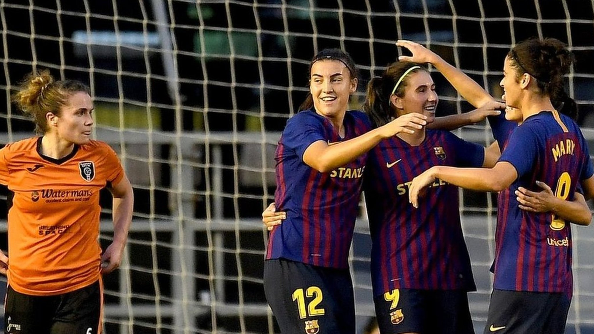 Mistakes 'really hurt' Glasgow City in Barcelona defeat