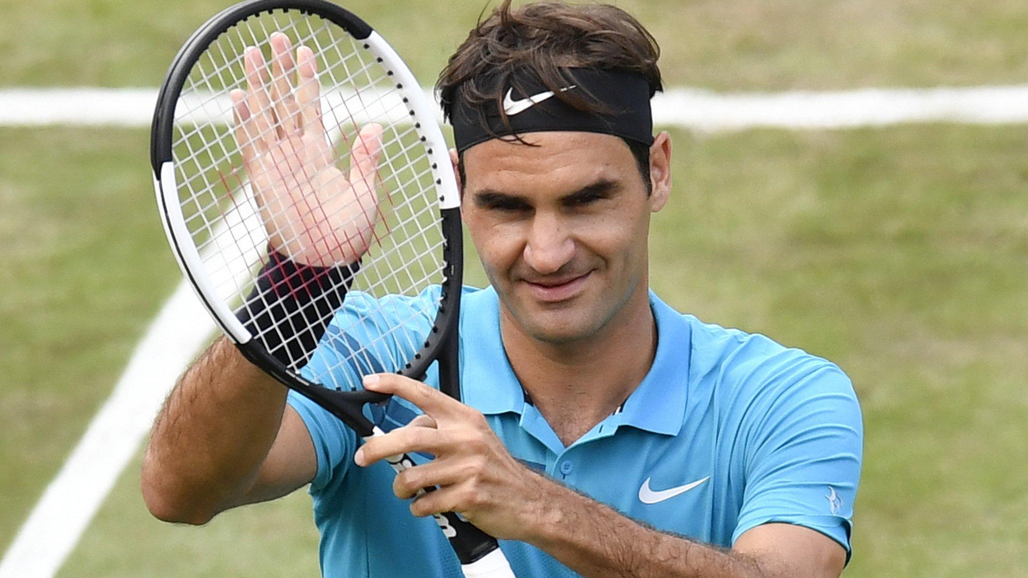 Mercedes Cup: Roger Federer beats Guido Pella to reach Stuttgart semi-finals