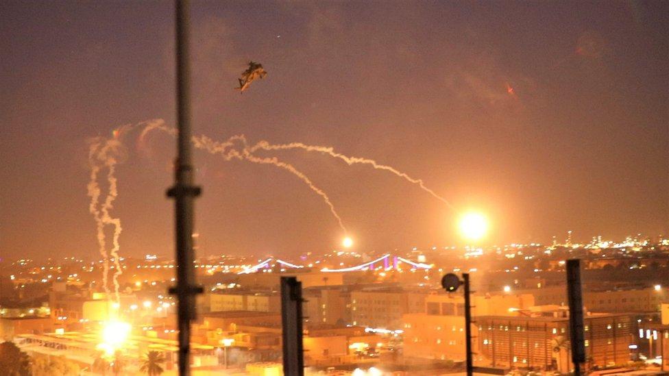 Helicóptero de Estados Unidos in Irak