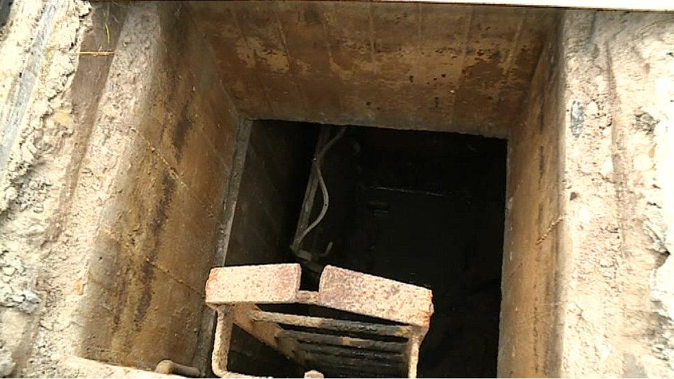 WW2 bunker found under Middlesbrough back garden