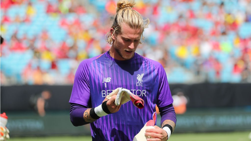 'Stay strong' - Salah's message to team-mate Karius
