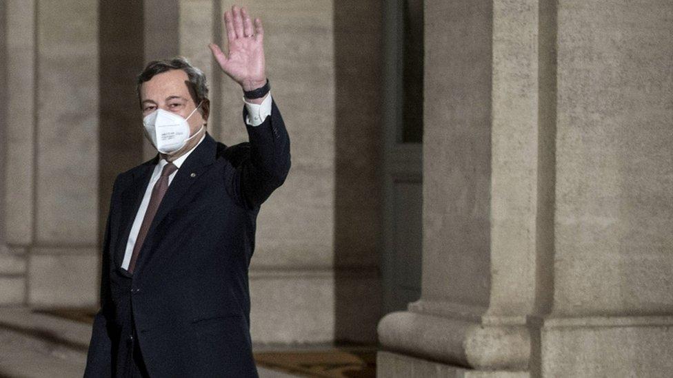Avrupa Merkez Bankası Başkanı Mario Draghi
