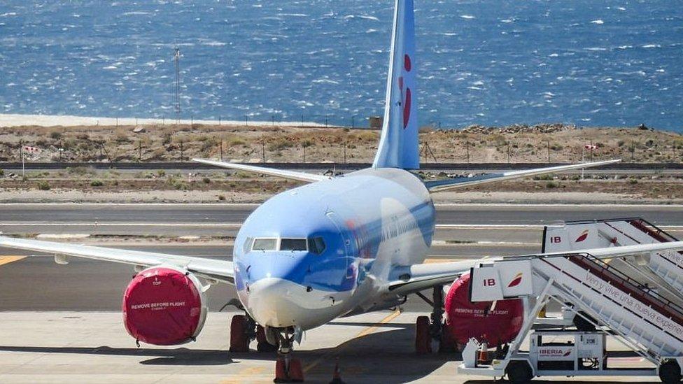 Avión de Boeing