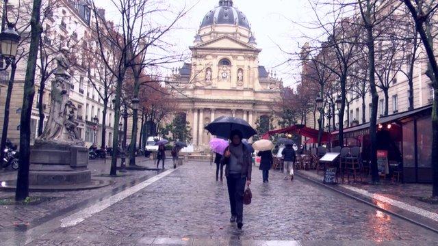 A scene in Paris