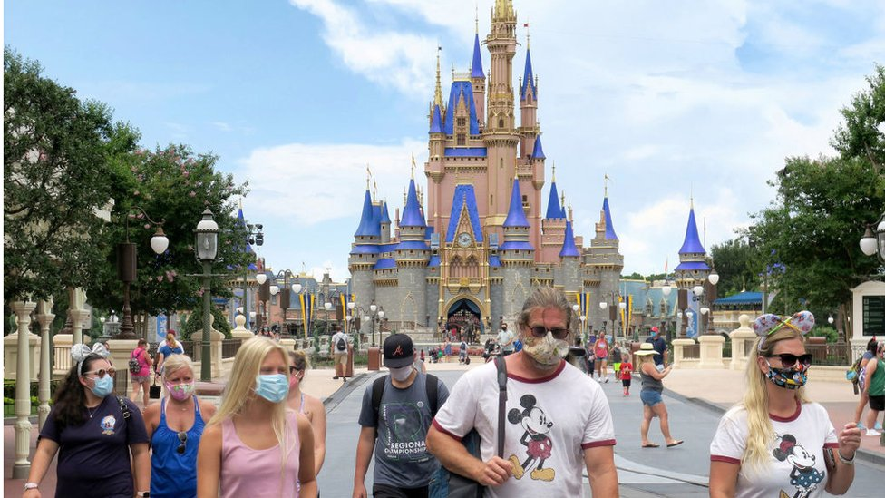 Walt Disney World reopened on 11 July