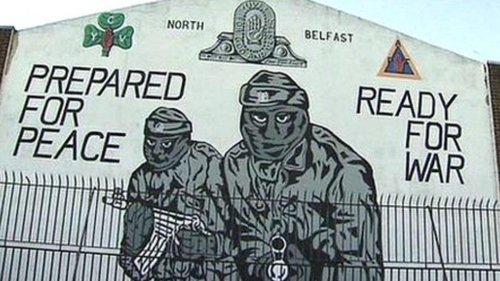 Mural in Mount Vernon, north Belfast