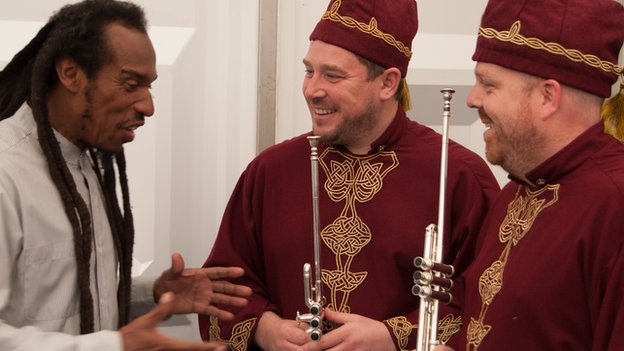 In conversation with trumpeters Paul Hughes and Dewi Griffiths