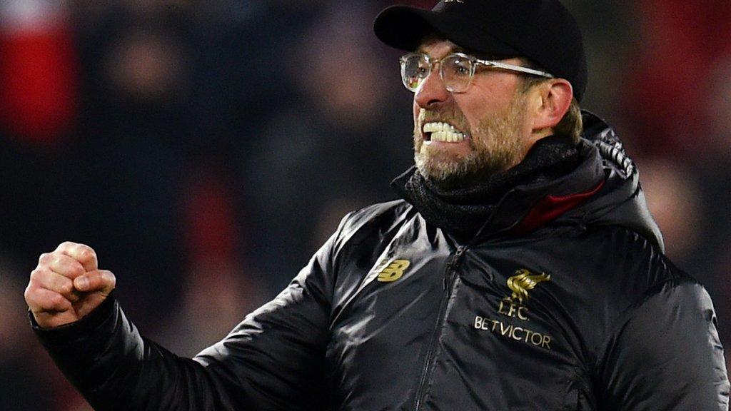 Jurgen Klopp: Liverpool boss hails 'important' 60-point milestone
