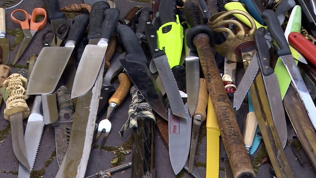 Knife haul removed from Ipswich streets