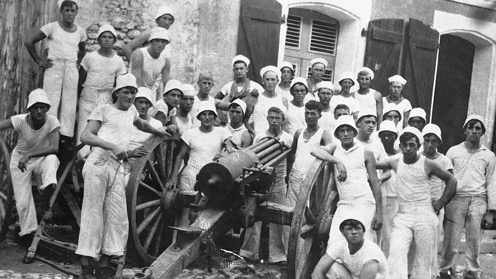 La ocupación de Haití