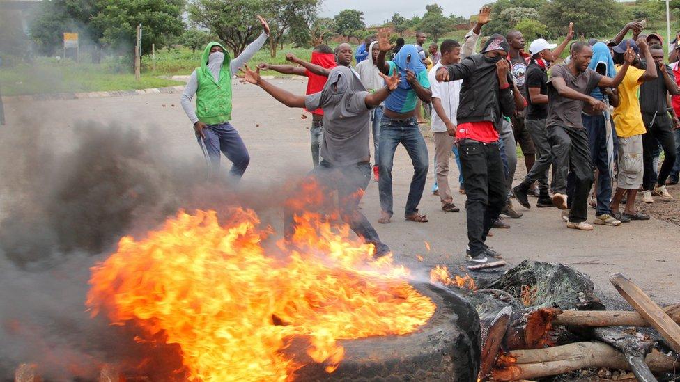 Protes di Harare
