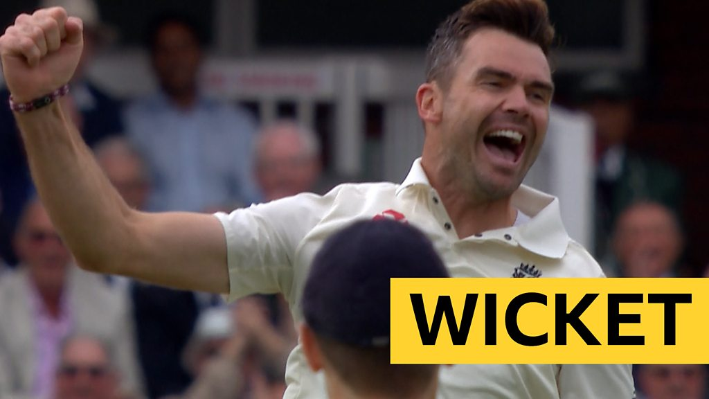 England v India: James Anderson dismisses Vijay with fifth ball