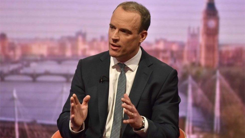 Tory leadership: Dominic Raab enters race
