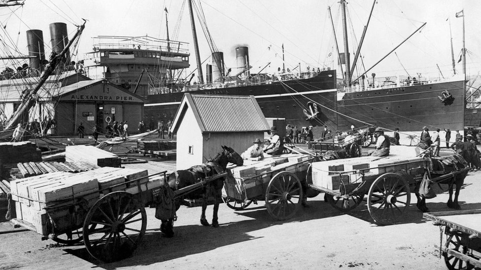 Australian Harbor Hobart.