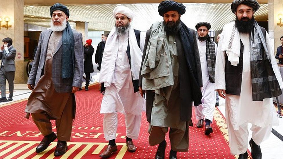 Katar'da Taliban'la görüşmelere katılan heyette ABD, Rusya, Çin ve Pakistan'dan yetkililer vardı
