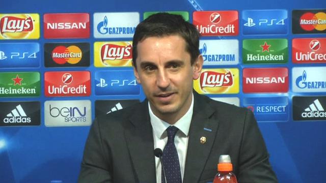 Valencia boss Gary Neville