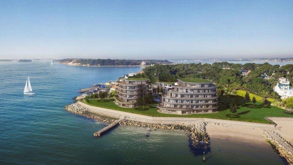 Sandbanks hotels redevelopment plans 'ghastly'
