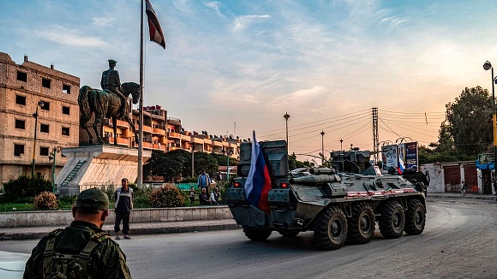 Rus ordusu Suriye-Türkiye sınırında devriye yapıyor