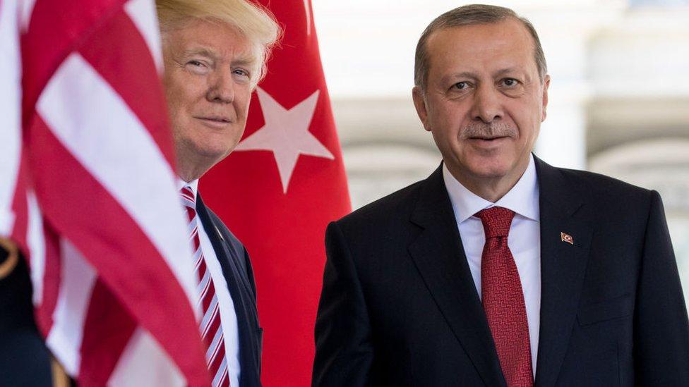 Трамп у листі закликав Ердогана