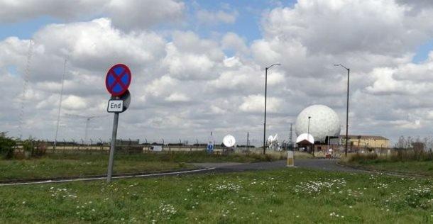 محطة اتصالات تابعة للقوات الجوية الأمريكية في بريطانيا