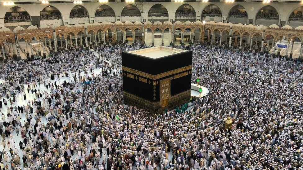 La Meca.