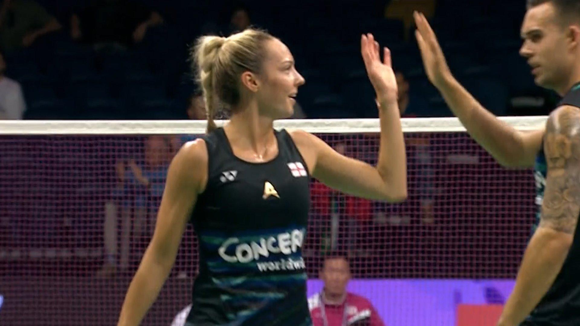 Badminton World Championships GB s Chris and Gabby Adcock lose